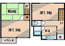 [一戸建] 広島県広島市東区若草町 の賃貸【/】の間取り