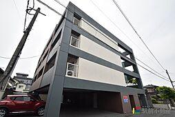福岡県古賀市天神4丁目の賃貸マンションの外観