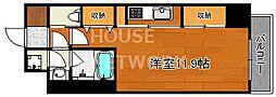Grand Eterna京都[1706号室号室]の間取り