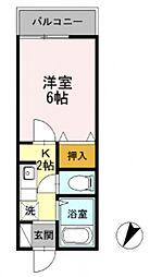 KIKUNAサミット壱番館[101号室号室]の間取り