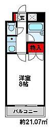 キャンパスシティ太宰府[405号室]の間取り
