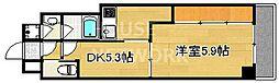 Grand Eterna京都[1604号室号室]の間取り