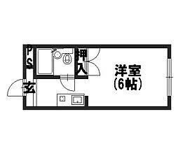 ソシアル長岡京[1階]の間取り