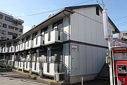 大阪府大阪市平野区加美西1丁目の賃貸アパートの外観