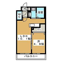 Ritz GRANDE N19[4階]の間取り