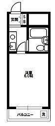 メゾン・ド・スラン[4階]の間取り