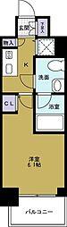 エスライズ大阪ドームレジデンス[3階]の間取り