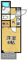 プログレス泉尾[4階]の間取り