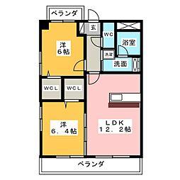 SUN島田[3階]の間取り