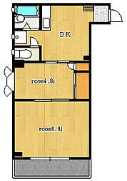 第3東和ビル[5階]の間取り