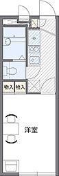 埼玉県さいたま市南区大字大谷口の賃貸マンションの間取り