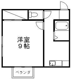 デューン[2階]の間取り