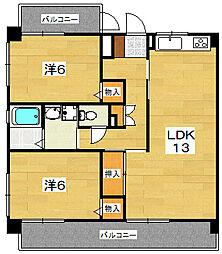 Espero2[2階]の間取り