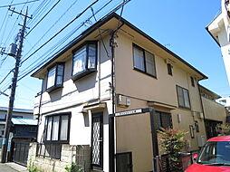 東京都府中市新町3丁目の賃貸アパートの外観