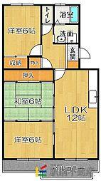 レークサイドパークII[4階]の間取り