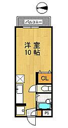 ALLURE−K[1階]の間取り