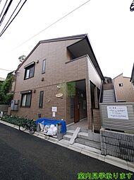 東京都新宿区坂町の賃貸アパートの外観