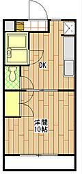 フェニーチェ[3階]の間取り