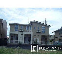 愛知県豊田市田中町1丁目の賃貸アパートの外観