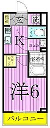 ライジングプレイス綾瀬[3階]の間取り