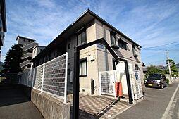 広島県広島市安佐南区川内2丁目の賃貸アパートの外観