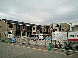 富山県富山市新庄北町の賃貸アパートの外観