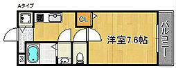 ヴァンヴェール熊取[2階]の間取り