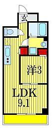 金太郎ヒルズ204[2階]の間取り
