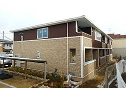 大阪府富田林市中野町1丁目の賃貸アパートの外観