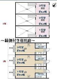 東京メトロ千代田線 根津駅 徒歩5分の賃貸アパート 1階1LDKの間取り