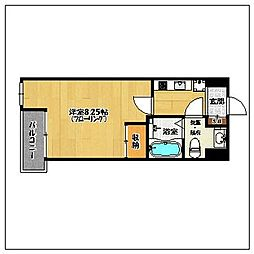 casa verde[2階]の間取り