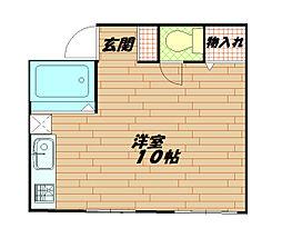 メゾン天城[3階]の間取り