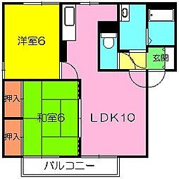 エミネンスSAKAI[2階]の間取り