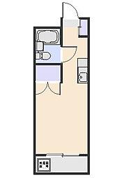 ファミール北野C[109号室]の間取り