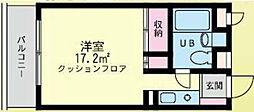 シティードームA棟[112号室]の間取り