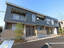 千葉県佐倉市生谷の賃貸アパートの外観