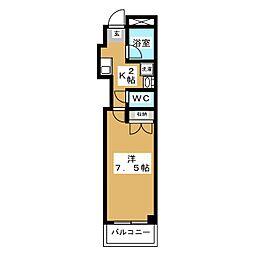 Amity城西[2階]の間取り