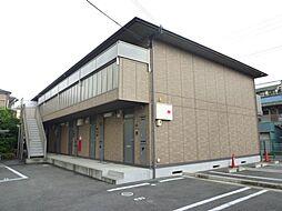 ヒルズシンシア I・II[1階]の外観