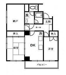 旭町武井ビル[4階]の間取り
