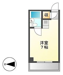 シティーライフ鶴舞[5階]の間取り