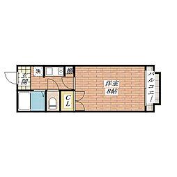 穂積マンション[7階]の間取り