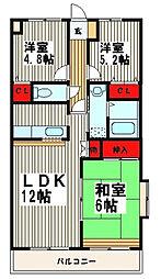 モア・メゾン[1階]の間取り