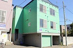 北海道札幌市東区北十七条東18丁目の賃貸アパートの外観