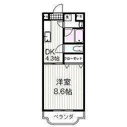 エクセル22[105号室]の間取り