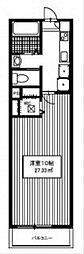 ヴェルドミール玉川学園II[1階]の間取り
