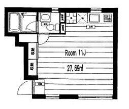 T-FLATS[3階]の間取り