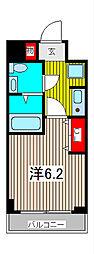 エルスタンザ浦和常盤[8階]の間取り