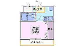 メイビ・I[3階]の間取り