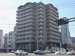 愛媛県松山市平和通1丁目の賃貸マンションの外観