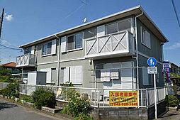東京都武蔵村山市三ツ木1丁目の賃貸アパートの外観